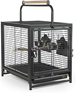 Prevue Pet Products Travel Carrier for Birds, Black