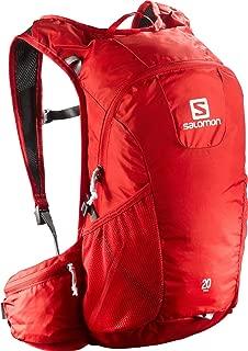 One Size Capacidad 25/L //Rojo SALOMON QST Mochila de monta/ñismo Unisex Adulto Cherry Red Gris Oscuro Ebony Pr/áctica y Moderna