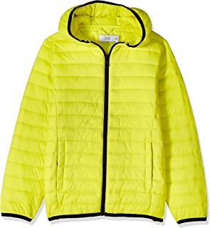 OVS Boy's 191JKT010A-226 Short Coated Jacket, Yellow (Sulphur Spring 2468), Size: 4-5
