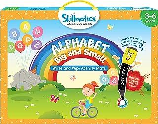 Skillmatics Educational Game: Alphabet Big and Small, Multi-Colour, 3 - 6 Years, SKILL01ABB