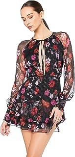 Talulah Women's Wild Bloom Long Sleeve Mini Dress