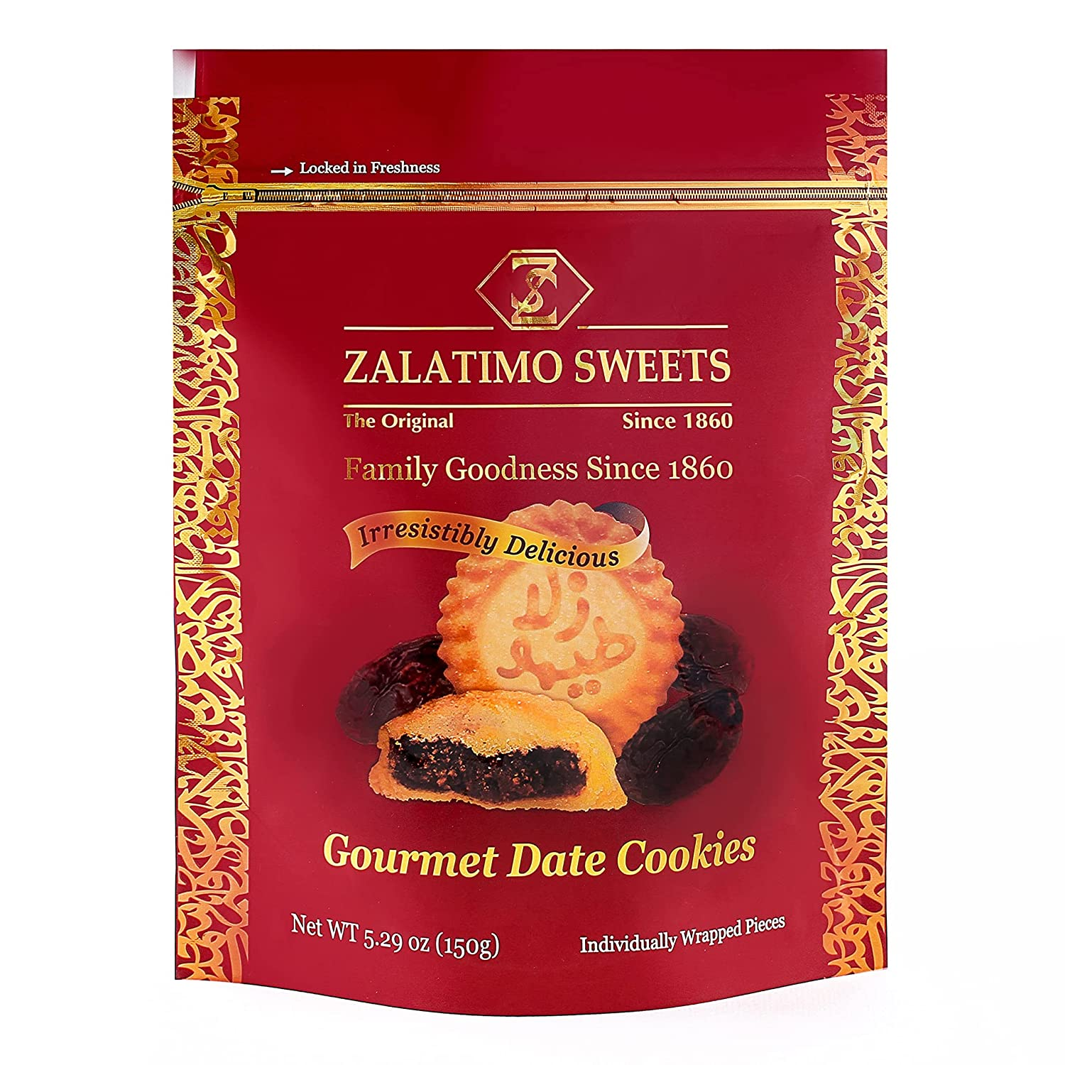 Zalatimo Sweets Since 1860 100% lowest price All-Natural Cookies Filled Max 58% OFF Date