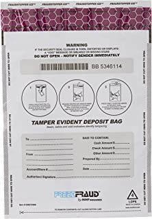 FREEZFraud Bags, 9 x 12, White, 100/Box (並行輸入品)