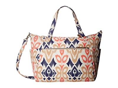 Pacsafe Stylesafe Anti-Theft Tote (Ikat Coral) Handbags