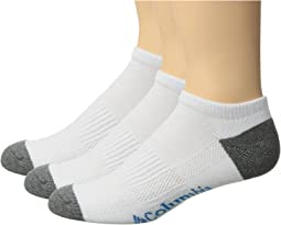 Columbia - 3-Pack No Show Athletic Socks
