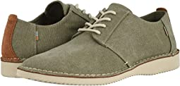 Tarmac Olive Washed Canvas/Stitch Out