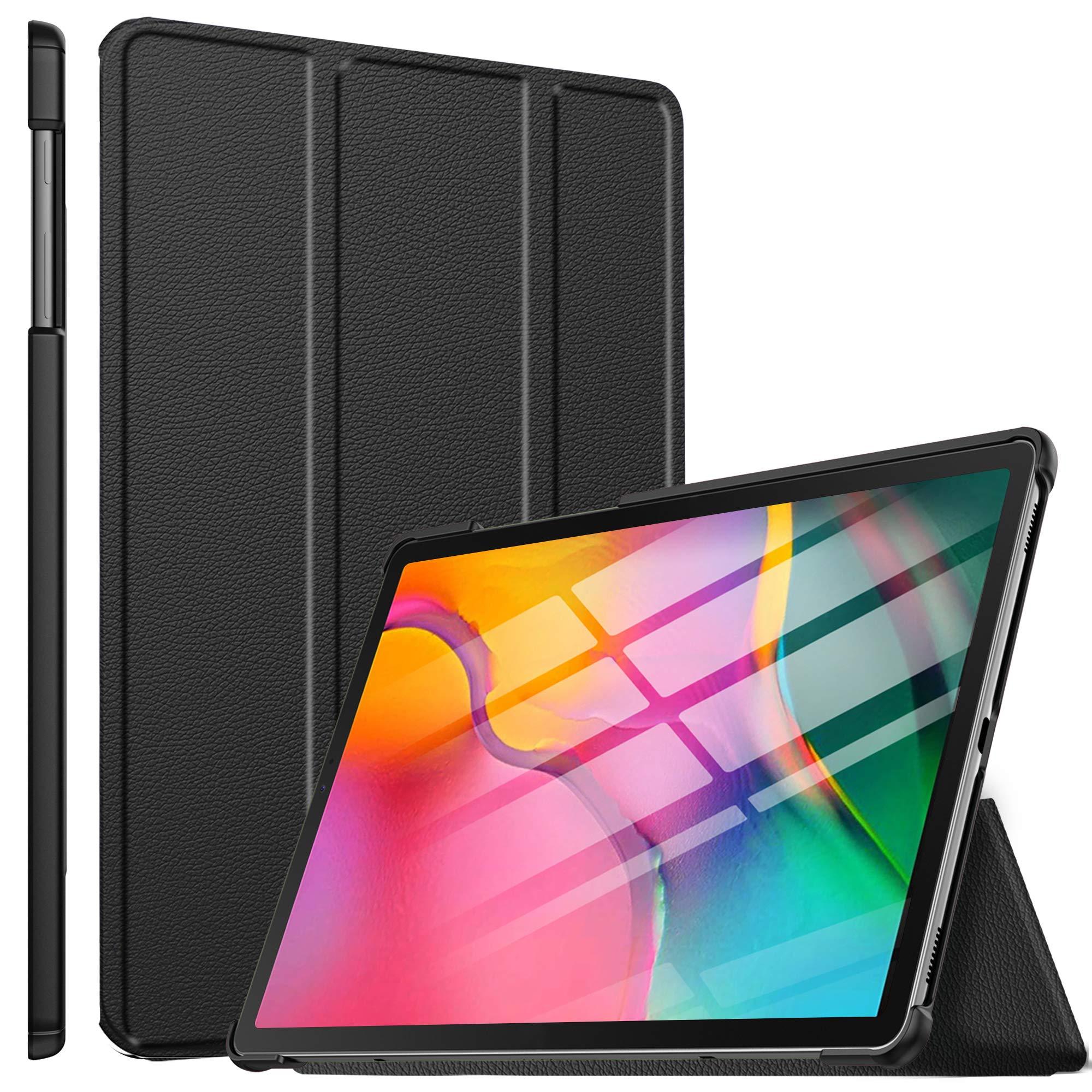 ELTD Funda Carcasa para Samsung Galaxy Tab A T510/T515 10.1 2019, Ultra Delgado Stand Función Smart Fundas Duras Cover Case para Samsung Galaxy Tab A 10.1 T510/T515 2019 Tableta, (Negro): Amazon.es: Electrónica