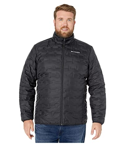 Columbia Big Tall Delta Ridgetm Down Jacket (Black) Men