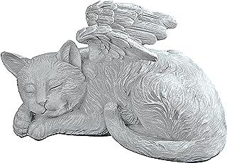 Best Design Toscano QL6080 Cat Angel Pet Memorial Grave Marker Tribute Statue, One Size, full color Reviews