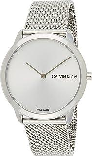Calvin Klein Mens Quartz Wrist Watch, Analog and Stainless Steel- K3M211Y6