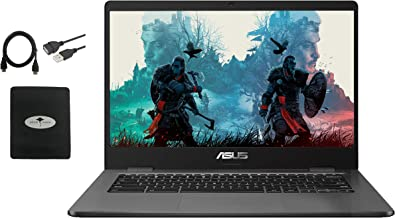 "$299 » 2021 ASUS 14"" Light Thin Chromebook Student Laptop, Intel Celeron N3350, 4GB RAM 32GB eMMC, Webcam, Chrome OS(Google Class..."