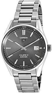 Tag Heuer Mens Carrera Stainless Steel Watch