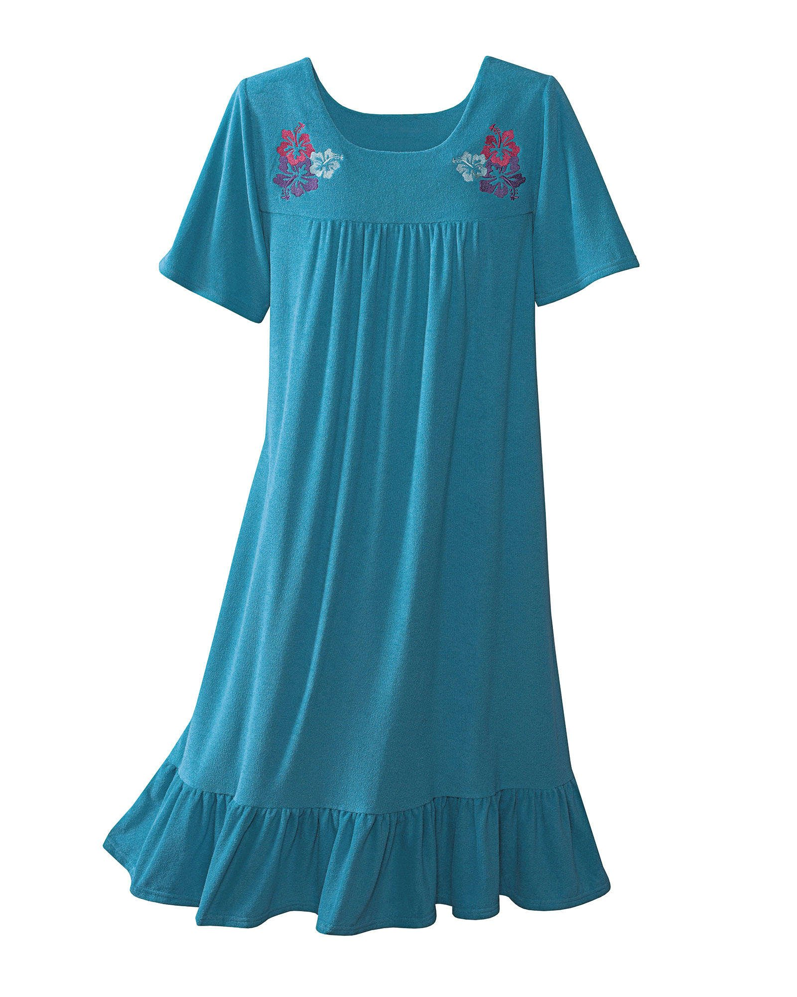 Available at Amazon: National Terry Lounge Dress