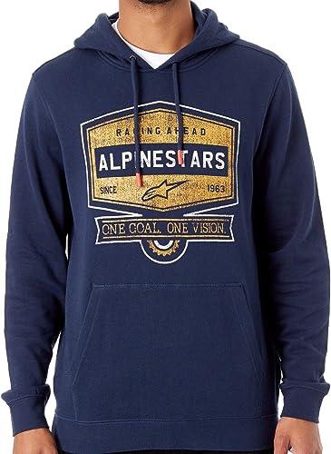 Alpinestars Sweat Diner Bleu Fonce (XL, Bleu Fonce)