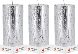 Pillar Candle 3x6 Design Hand Dipped Pillar Candle for Wedding, Ceremonies, Dinners and Romantics,