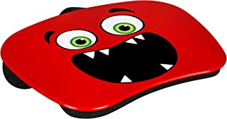 Lap Desk LapGear My Monster Soft Bead-Filled Cushion Lap Desk Red