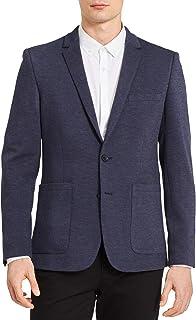 Calvin Klein Men's Knit Dobby Slim Fit Blazer