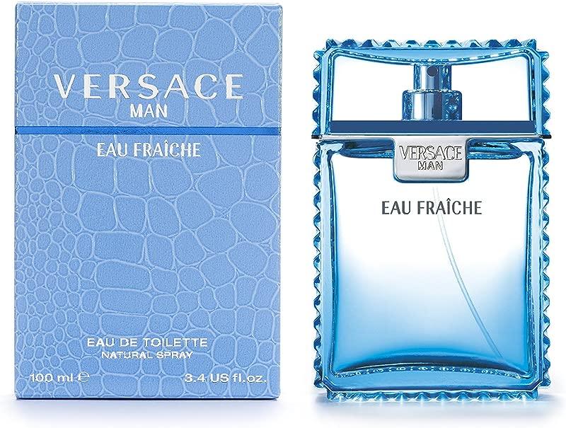 Versace Man Eau Fraiche By Gianni Versace For Men Edt Spray 3 4 Fl Oz
