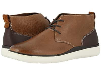 Johnston & Murphy Farley Chukka (Tan Full Grain) Men