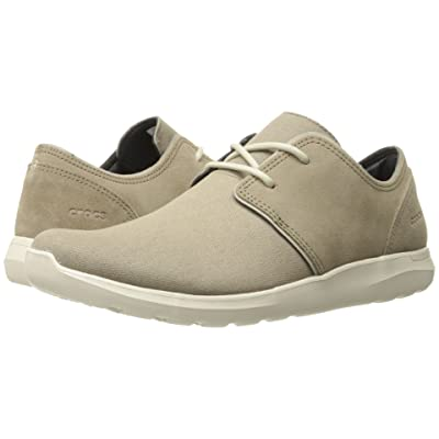 Crocs Kinsale 2-Eye Shoe (Khaki/Stucco) Men