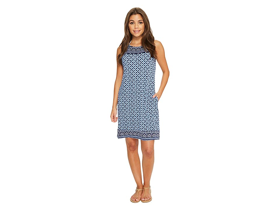 Tommy Bahama Indigo Cowrie Swim Dress Cover-Up (Mare Navy) Women