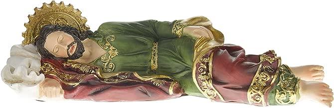 Biagio Sleeping St. Joseph Statue Figurine, 12-Inch