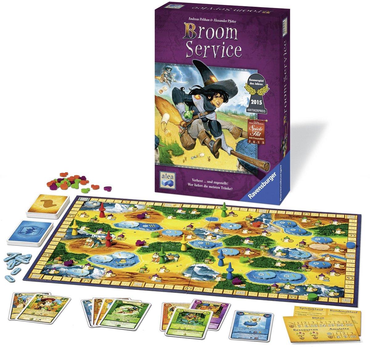 Broom Service (Spiel): Pelikan, Andreas, Pfister, Alexander: Amazon.es: Juguetes y juegos
