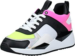 GUESS Typical3 Women's Athletic & Outdoor Shoes, Multicolour (Clear CLRLL), 37.5 EU