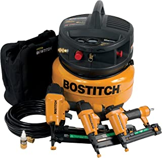 Factory-Reconditioned BOSTITCH U/CPACK300 3-Tool and Compressor Combo Kit