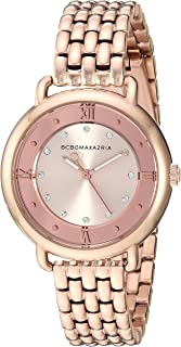 Women's Transparency Japanese-Quartz Watch with Stainless-Steel Strap, Rose Gold, 7.5 (Model: BG50911003)