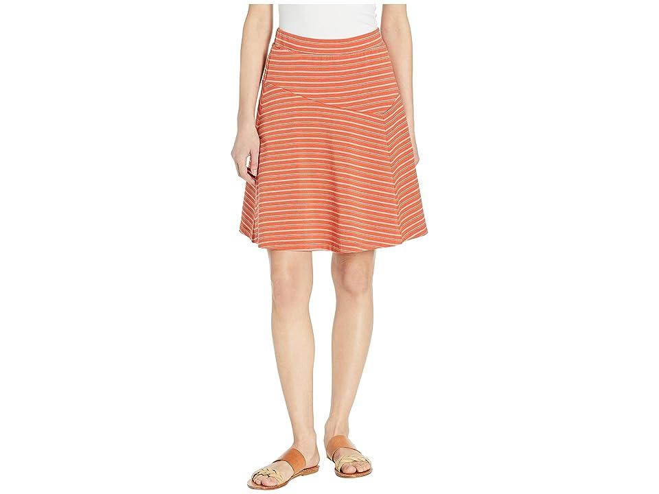 NAU Astir Swing Skirt Stripe (Terracotta Stripe) Women
