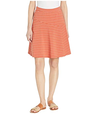 NAU Astir Swing Skirt Stripe (Terracotta Stripe) Women