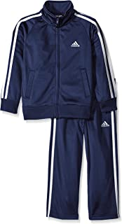 adidas Boys' Tricot Jacket and Pant Set