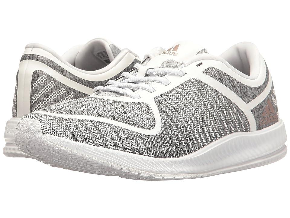 adidas Athletics Bounce (Light Grey Heather/Vapour Grey Metallic/White) Women