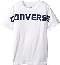 Converse Kids - Wordmark Tee (Big Kids)