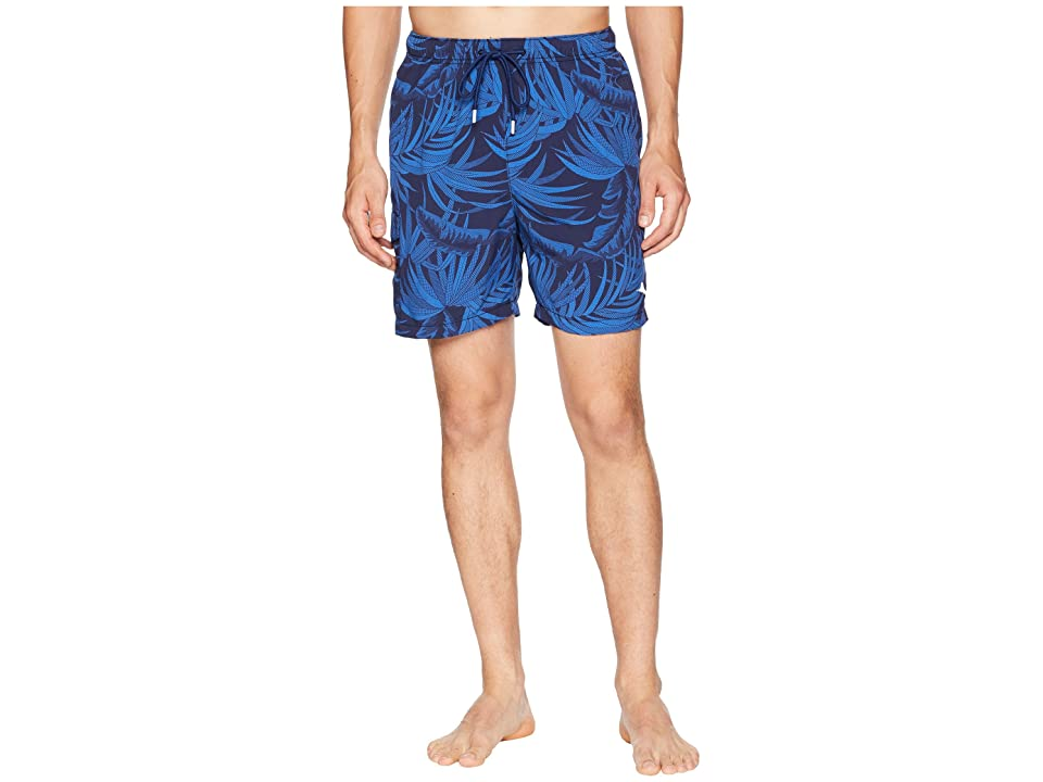 Tommy Bahama Naples Midnight Flora Swim Trunk (Ocean Deep) Men