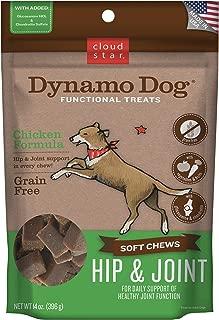 Cloud Star Dynamo Dog Hip & Joint, Functional Soft Chews with Glucosamine, Chondrotin & Grain Free