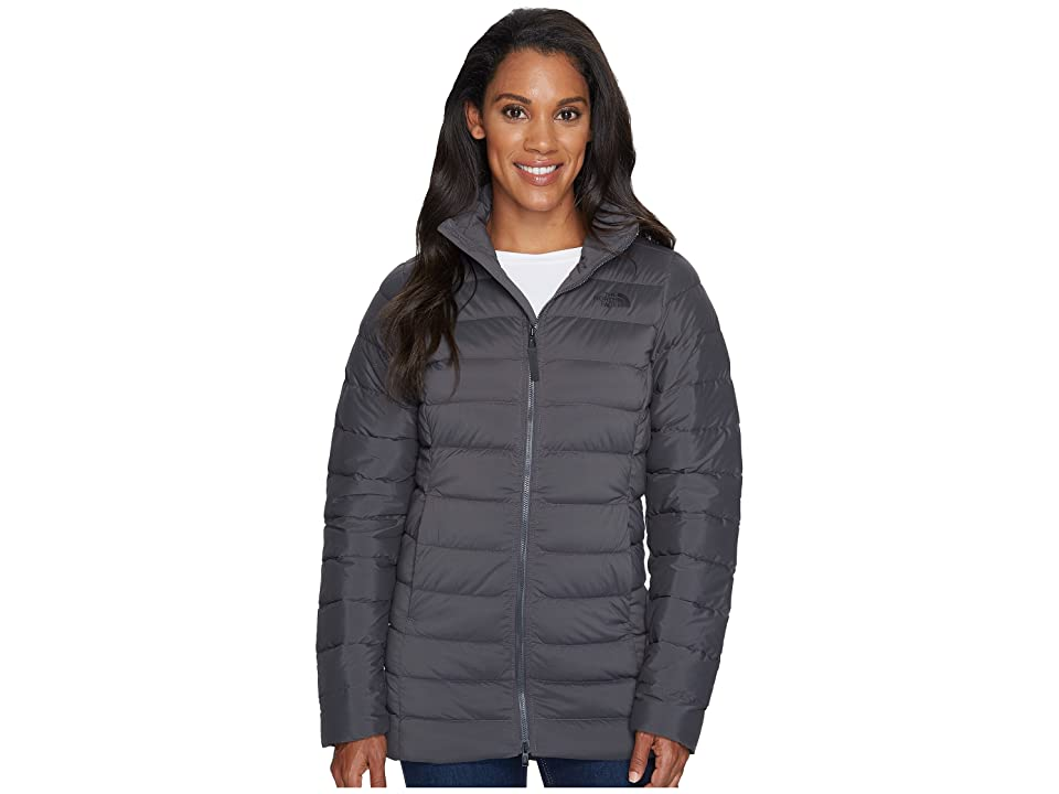 The North Face Stretch Down Parka (Asphalt Grey) Women