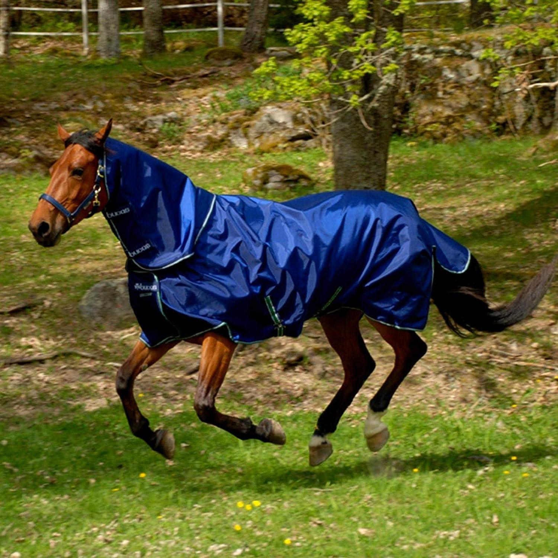 Bucas Smartex Horse Neck Rug  Size Large color Navy
