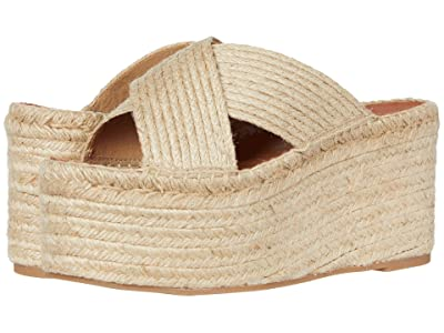 ALOHAS Bali Natural Platform Wedge Espadrille (Natural) Women