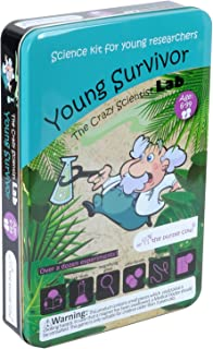 The Purple Cow - Science Kits for Kids- The Crazy Scientist Young Survivor, Survival Skill Box for Learning & Education, with Instructions for Boys & Girls Aged 8+
