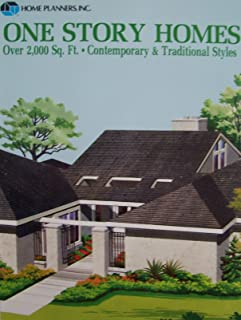 One Story Homes over 2000 Square Feet: Contemporary & Traditional Styles