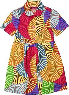 Girl's Africa Print Dress, Sizes 4-12