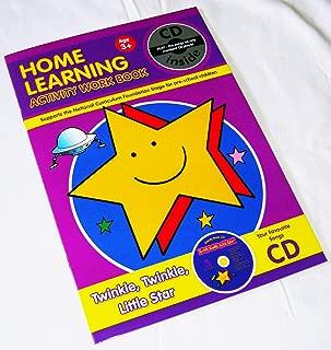 New Home Learning Activity Work Book + CD Twinkle Little Star Pre School AL