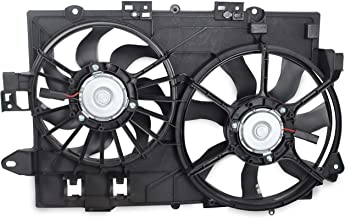 Best BOXI 621-052 Dual Radiator Cooling Fan Assembly Replacement for 2006 2007 2008 Chevy Equinox Pontiac Torrent (Replace 19129813 1581578 FA70436) Review