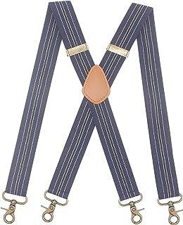 آویز مردانه 4 قلاب گردان قابل تنظیم بادبندهای کش دار سبک X سبک بند سنگین