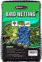 MEKKAPRO Heavy Duty Bird Netting, Garden Nets for Fruit, Vegetable, Plant Trees   Deer Netting and Fencing   Anti-Bird and Deer Net (7.2 x 65 feet)