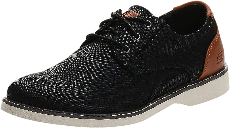 Skechers Men's Parton-Wilcon Canvas Oxford Shoe