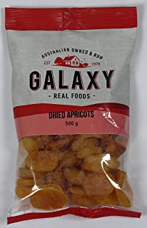 Galaxy Foods Apricots Dried, 500 g