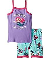 Underwater Kingdom Sleeveless Pajama Set (Toddler/Little Kids/Big Kids)